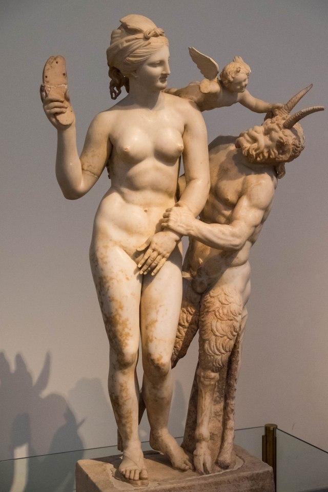 Nat'l Archaeological Museum - Aphrodite, Pan, Eros