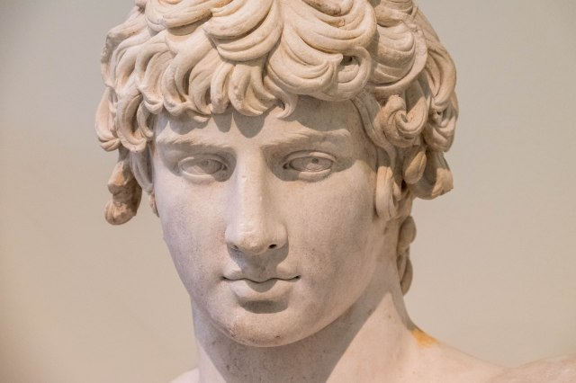 Nat'l Archaeological Museum - Antinous - Hadrian's lover