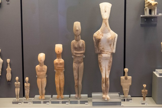 Nat'l Archaeological Museum - Cycladic Figurines