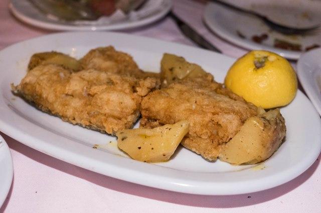 Xenios Zeus Restaurant - Salt Cod