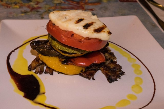Psirri Neighborhood - Oineas Restaurnt - grilled vegetables