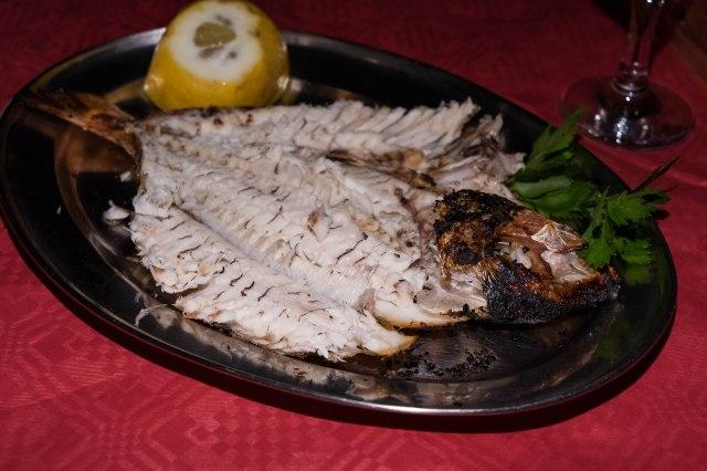 Matoula Taverna - whole fish