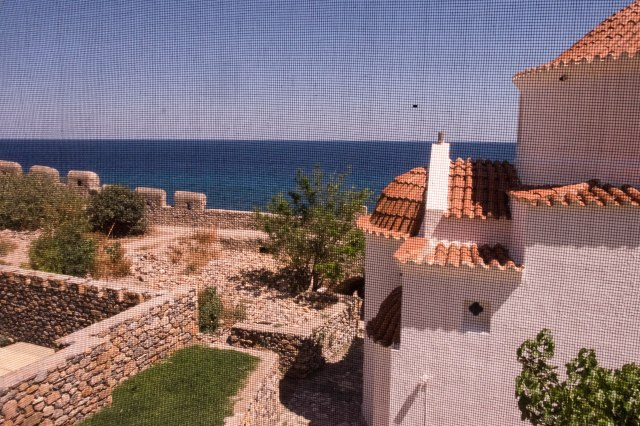 Monemvasia - view from our room