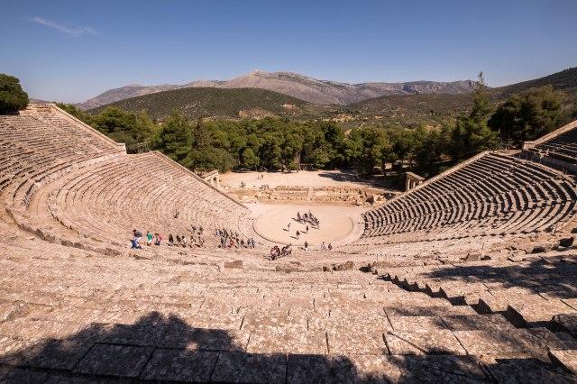 Epidavros - Theater