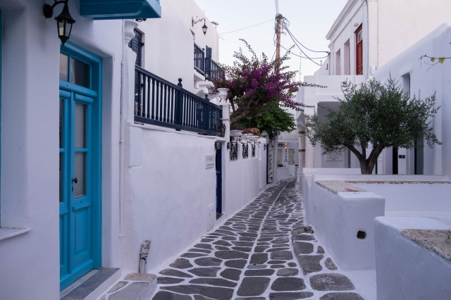 Mykonos at Dawn