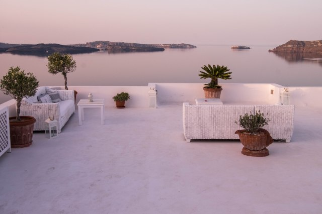 Oia at dawn