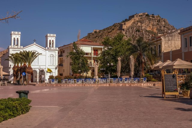 Nafplio - Square of the Friends of the Greeks
