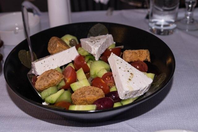 Oia - Neptune Restaurant - Santorini Salad