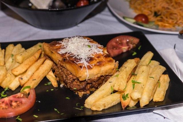 Oia - Neptune Restaurant - Moussaka