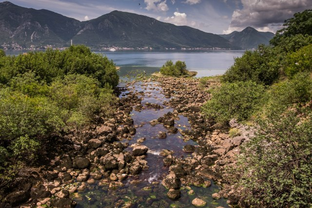 Bay of Kotor - Ljuta River - shortest in the world