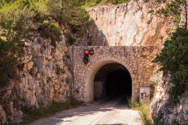 Hvar - Old Pitve tunnel