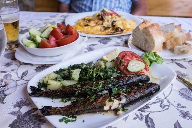 Mostar - Hindin Han - trout