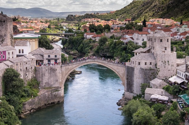 Mostar - View from Koski Mehmet-Pasha Mosque