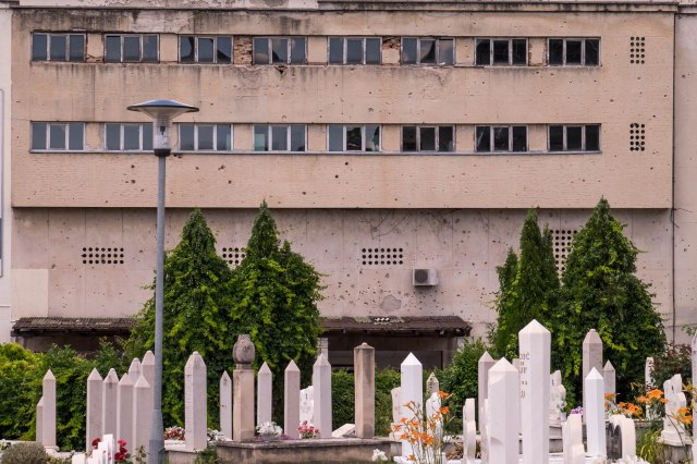 Mostar - New Muslim Cemetery