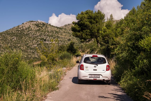 Road to Bosnia Herzegovina - above Slano Croatia