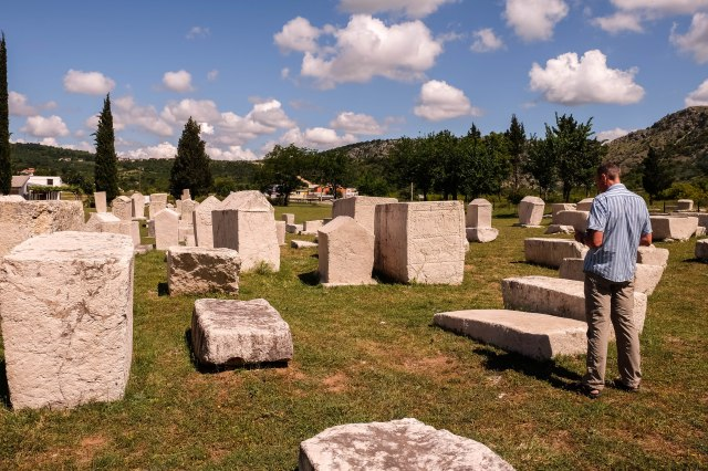Stolac Necropolis - Stecaks from the 13th - 15th centuries
