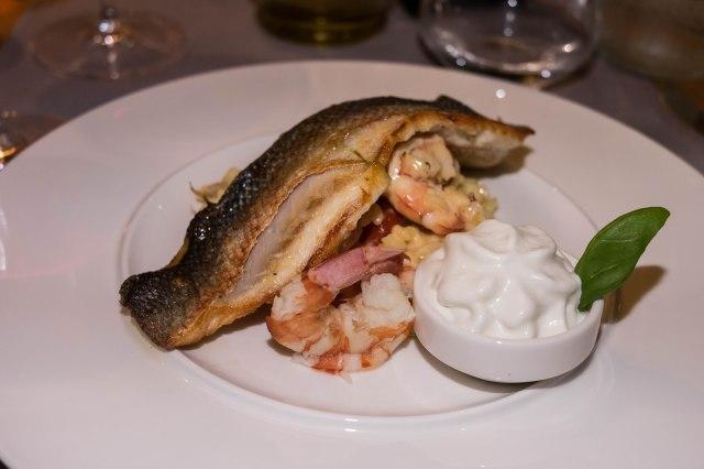 Hvar Town - Lucullus - sea bass