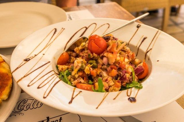 Split - Posejdon - octopus salad