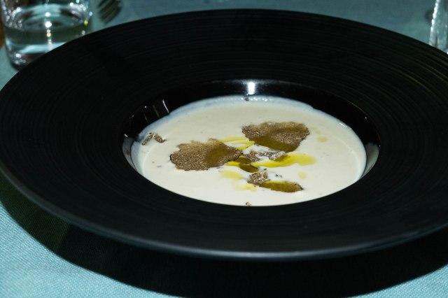 Split - Augubio Congo - celery soup laced with truffle oil