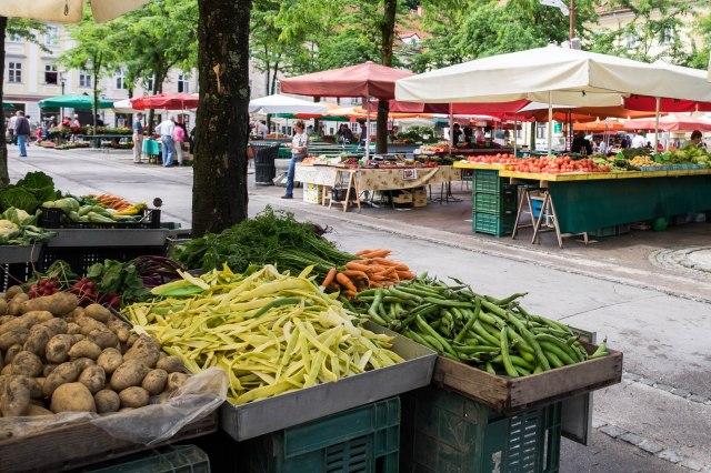 Ljubljana - market