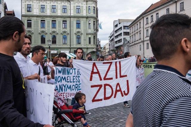 Ljubljana - protest