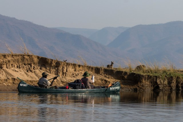 Mana Pools Canoe Trip Day 2-5