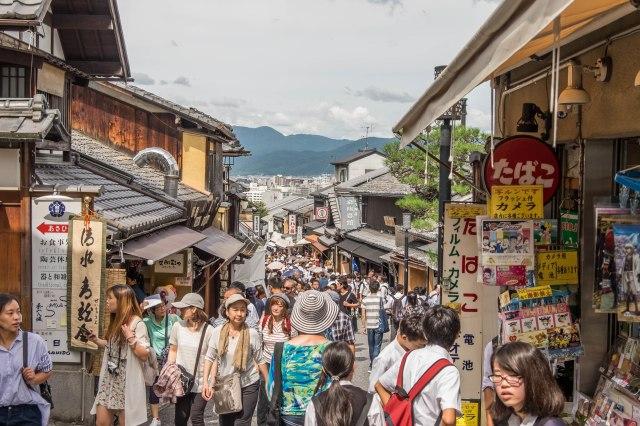 Matsubara dori shopping street