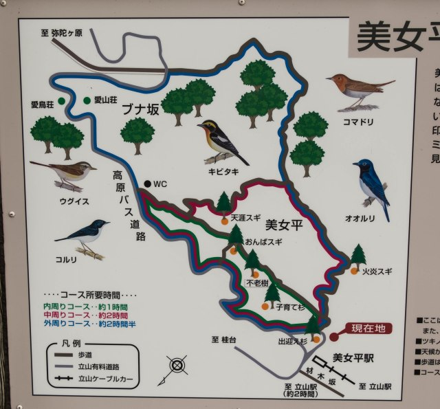 Bijodaira - walking trail