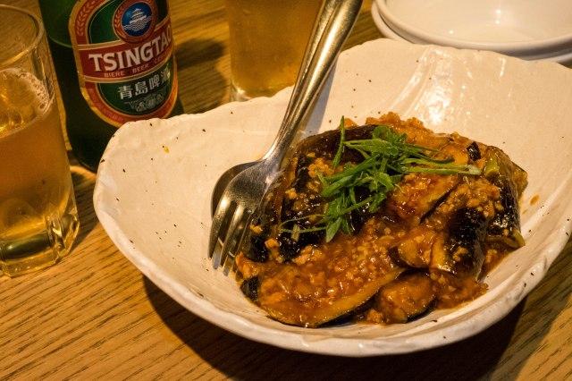 China Café Ryu-ka - Sichuan baked eggplant