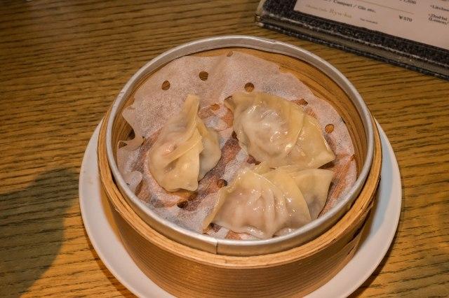 China Café Ryu-ka - Mushroom dumplings