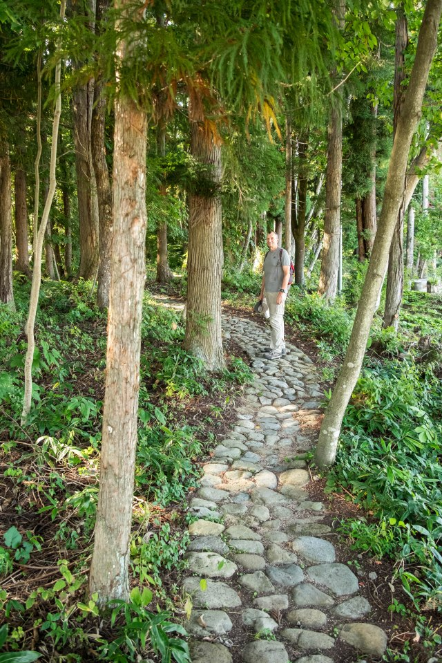 Omachi Onsenkyo - walking course