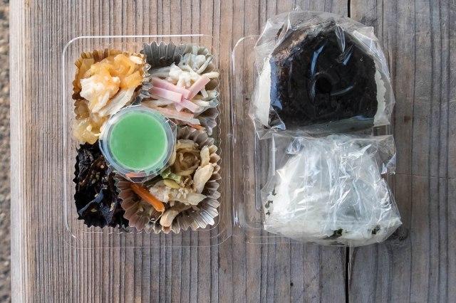 Hotel Keisui - breakfast bento box