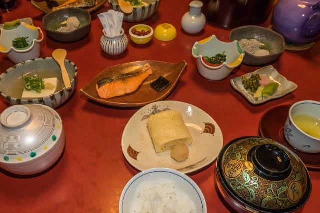 Sekoro Ryokan - Japanese breakfast