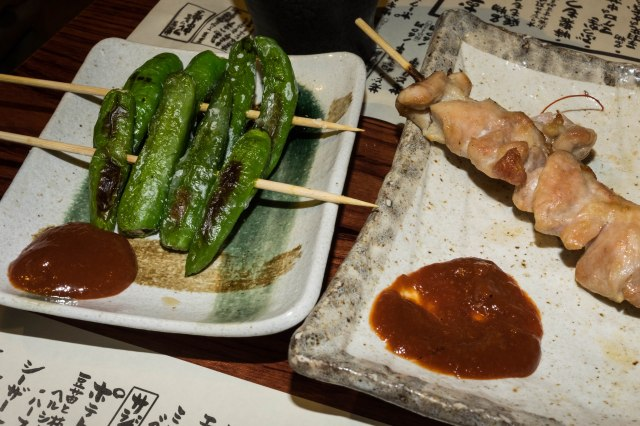 Yakitori south of Yurakucho