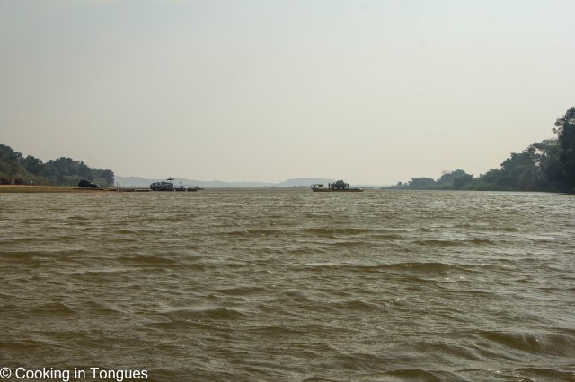 Mamambolo River Arrival Tsingy de Bemaraha-19