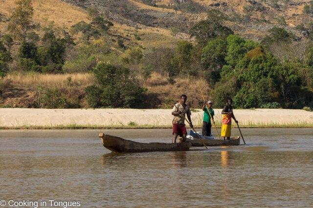 Mamambolo River Arrival Tsingy de Bemaraha-5