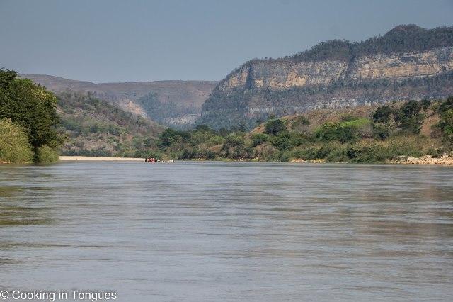 Mamambolo River Arrival Tsingy de Bemaraha-7