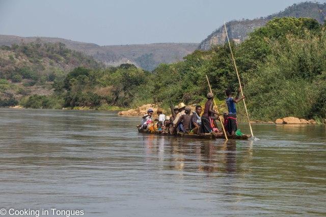 Mamambolo River Arrival Tsingy de Bemaraha-8