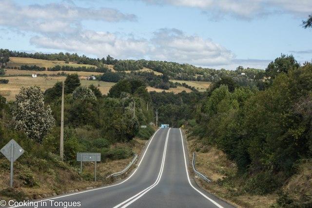 Driving around Chiloe